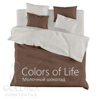 "GoldTex САТИН COLORS OF LIFE ""Молочный шоколад"""