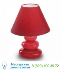 Ideal Lux K2 TL1 ROSSO 035024