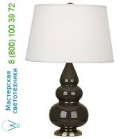 Robert Abbey Small Triple Gourd Table Lamp with Metal Base CR32X Robert Abbey, настольная лампа